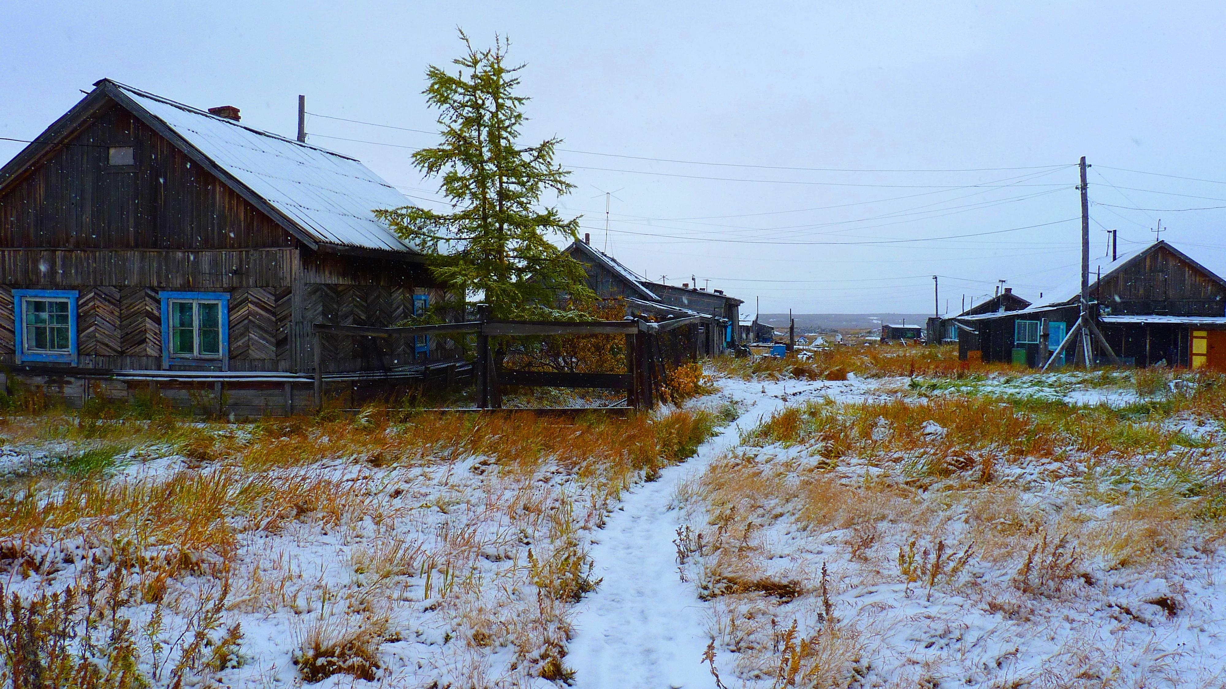 Усть-Порт осенью